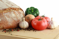Healthy food products Stock Photos