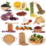 Healthy Food Sampler Royalty Free Stock Photos