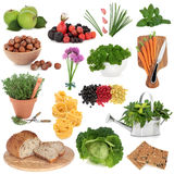 Healthy Food Sampler Stock Photography