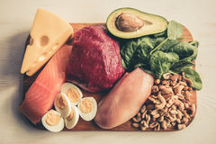 Healthy food for sports people Royalty Free Stock Photo