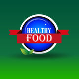 Healthy Food Stamp.Sign.Seal.Logo Royalty Free Stock Photo