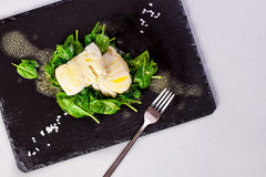 Healthy Food, steamed fish royalty free stock photography