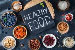 Healthy food, super food Royalty Free Stock Photo