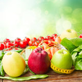 Healthy food on table Stock Photo