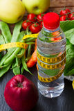 Healthy food on table Stock Images