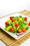 Healthy food to lose weight: fresh salad Stock Photo