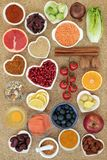 Healthy Food to Slow the Ageing Process stock photography