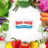 Healthy food vegetable background Stock Image