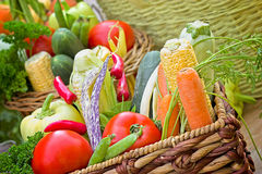 Healthy food - vegetarian food stock photo
