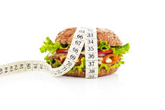 Healthy food, weight loss conceptual. Stock Photos
