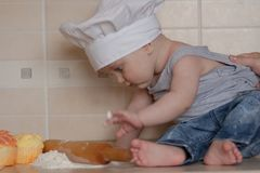 healthy food from a young age. the stock images