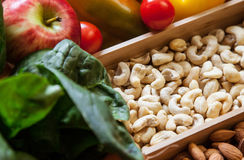 Healthy foods Royalty Free Stock Images