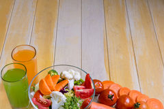 Healthy foods are on the table, Stock Photos