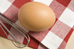 Healthy free range egg Stock Photography