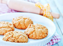 Healthy Fresh Baked Cookies Royalty Free Stock Photo