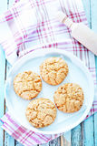 Healthy Fresh Baked Cookies Stock Photo