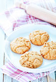 Healthy Fresh Baked Cookies Stock Images