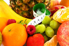 Healthy fresh fruit Stock Photography