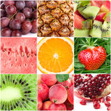 Healthy fresh fruit backgrounds Royalty Free Stock Photography