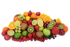 Healthy Fresh Fruit Selection Royalty Free Stock Images