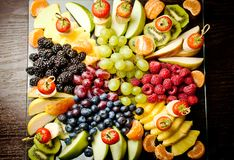 Healthy fresh fruits Royalty Free Stock Photography