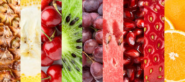 Healthy fresh fruits Royalty Free Stock Images