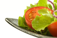Healthy fresh salad on a plate Royalty Free Stock Image