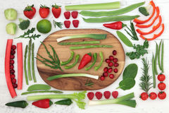 Healthy Fresh Super Food stock images