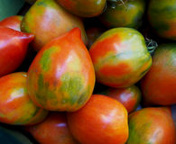 Healthy fresh tomatoes at market. Spain Stock Images