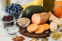 Free Healthy Fresh Vegan Food Royalty Free Stock Images - 97126359