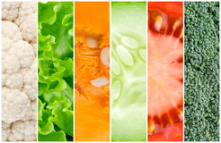 Healthy fresh vegetables background Royalty Free Stock Photo