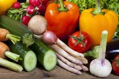 Healthy fresh vegetables Stock Photos