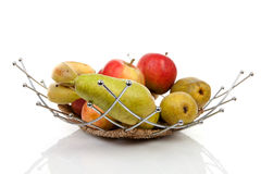 Healthy fruit basket Royalty Free Stock Photos
