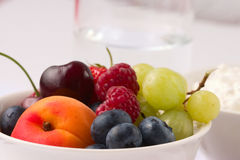 Healthy fruit breakfast_1 royalty free stock images