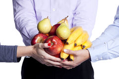 Healthy Fruit Choice Royalty Free Stock Image