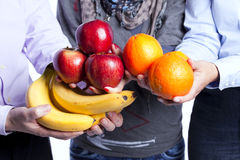 Healthy fruit choice Stock Image