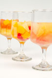 Healthy Fruit Cocktails Stock Photo
