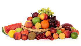 Healthy Fruit Collection Royalty Free Stock Image