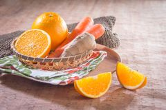 Healthy fruit and fresh food. Some fresh and healthy vegetables and fruit cuisine for cooking Royalty Free Stock Photography