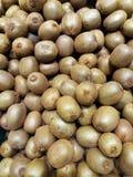 Healthy fruit good for health fresh kiwi a Kiwi fruit in market for background usage Stock Image