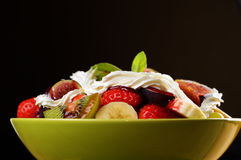 Healthy fruit mix salad Royalty Free Stock Photography