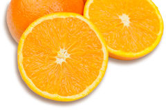 Healthy fruit. Oranges Royalty Free Stock Photography