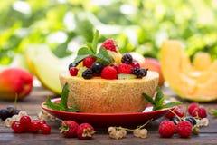 Healthy fruit salad Royalty Free Stock Photos