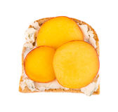 Healthy fruit sandwich Royalty Free Stock Photo