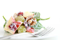 Healthy fruit and vegetable salad Royalty Free Stock Photography