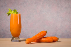 Healthy fruit and vegetable smoothie Stock Photo