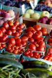 Healthy fruit and veggie choices Stock Images