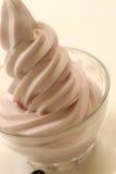 Healthy fruit yogurt Royalty Free Stock Photo