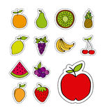 Healthy fruits design Stock Photo