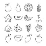 Healthy fruits design Stock Image